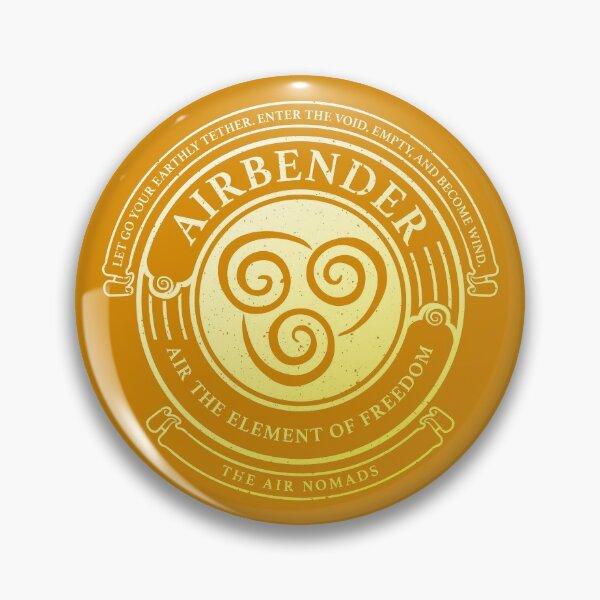 ATLA Airbender Symbol: Avatar-Inspired Design Pin