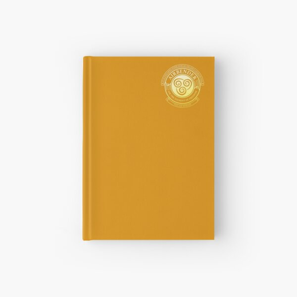 ATLA Airbender Symbol: Avatar-Inspired Design Hardcover Journal