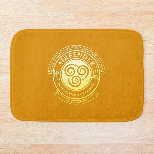 ATLA Airbender Symbol: Avatar-Inspired Design Bath Mat