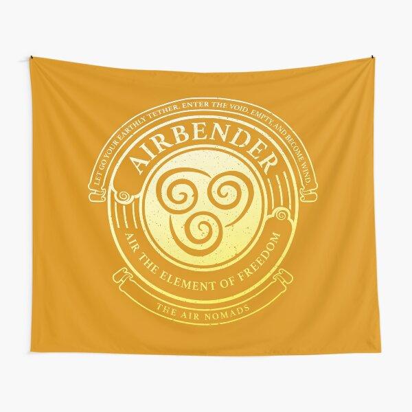 ATLA Airbender Symbol: Avatar-Inspired Design Tapestry