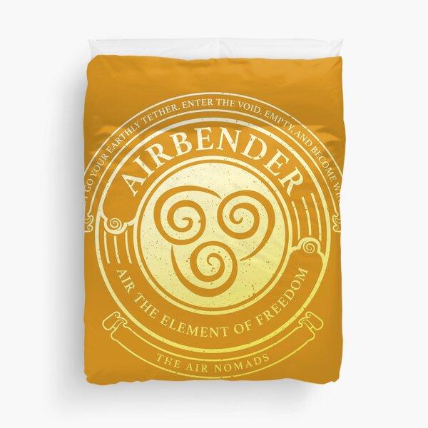 ATLA Airbender Symbol: Avatar-Inspired Design Duvet Cover