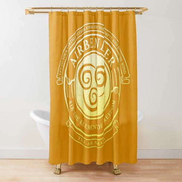 ATLA Airbender Symbol: Avatar-Inspired Design Shower Curtain