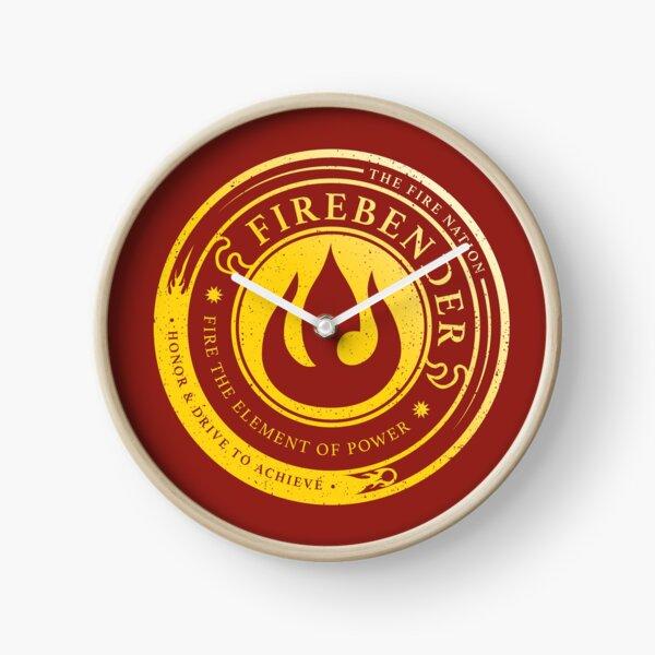 ATLA Firebender Symbol: Avatar-Inspired Design Clock