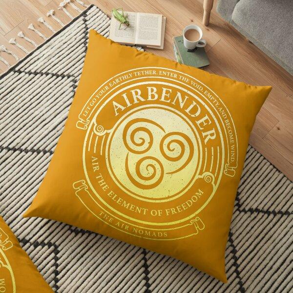 ATLA Airbender Symbol: Avatar-Inspired Design Floor Pillow