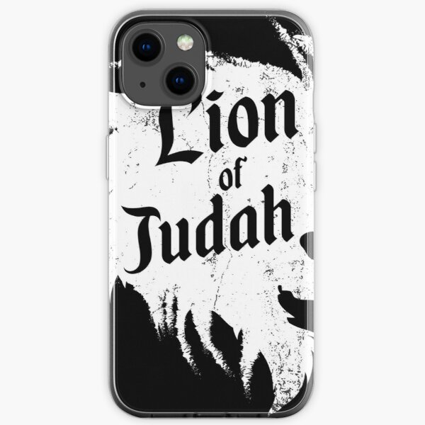 Lion of Judah design, Hebrew Israelite design graphic iPhone Soft Case
