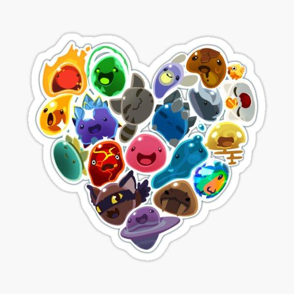 Slime heart  Sticker