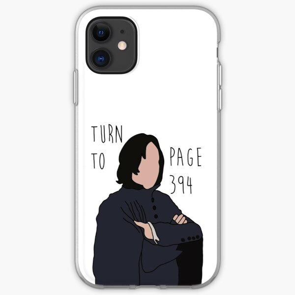 Turn to Page 394 iPhone Soft Case