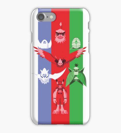 Hawk RGB iPhone Case/Skin