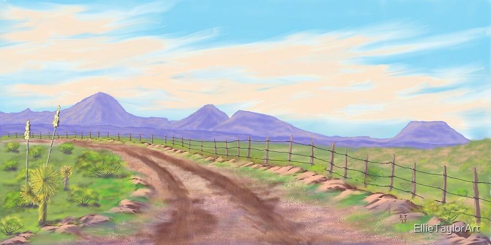 Road Toward Wind Mountain by EllieTaylorArt