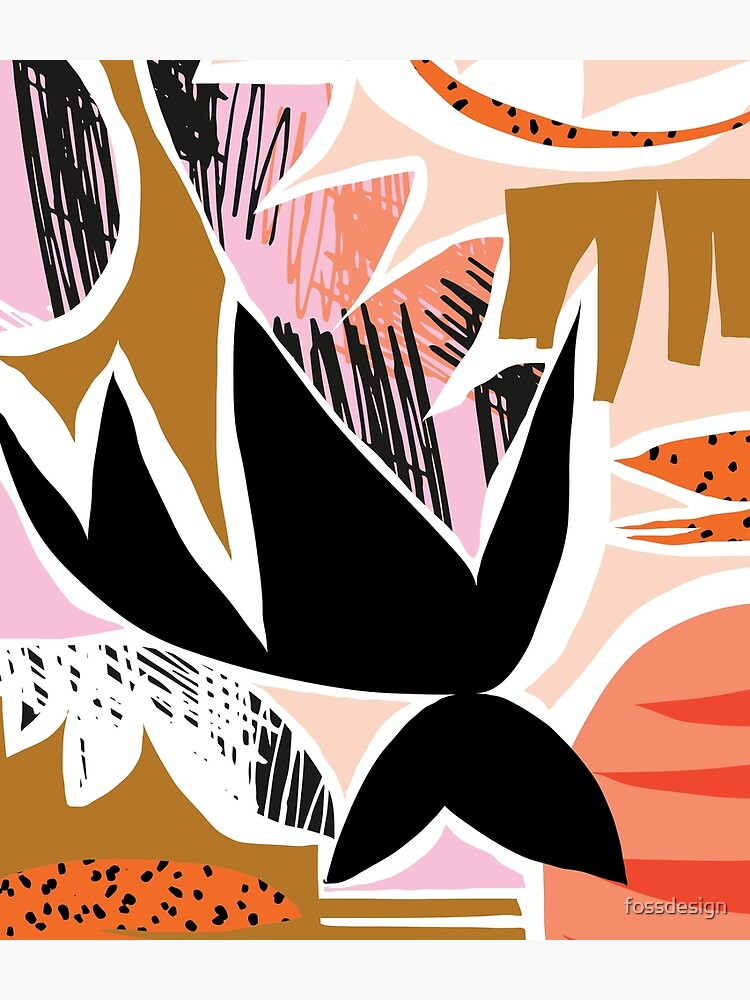 Refresher // Abstract Bright Print by fossdesign