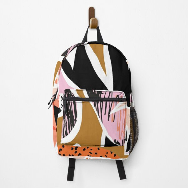 Refresher // Abstract Bright Print Backpack
