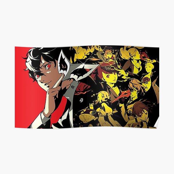 Persona 5 Royal Steel Book Art Poster