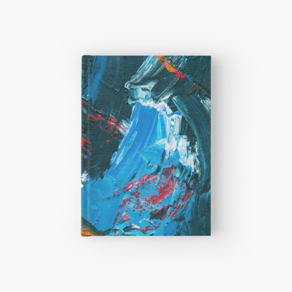 Oil paint on canvas Part 4 Hardcover Journal