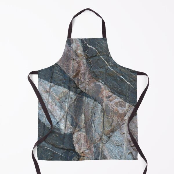Geology makes art Apron