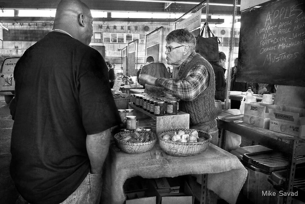 City - South Street Seaport - New Amsterdam Market - Apples & Mustard by Michael Savad