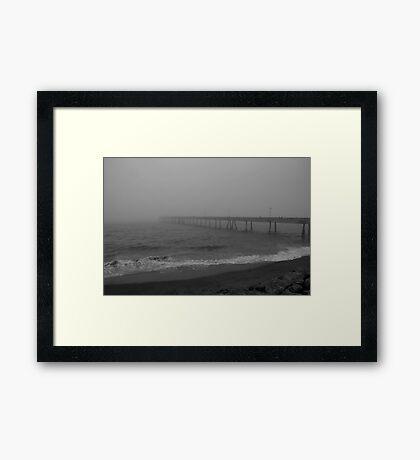 Fog City Pier 2 Framed Print