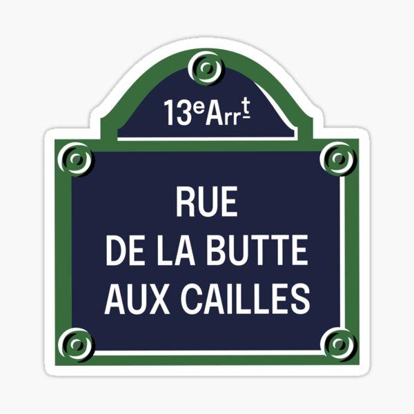 13th Arrondissement of Paris (Home of the Bibliothèque Nationale de Frace, La Butte aux Cailles, Paris Rive Gauche) Sticker