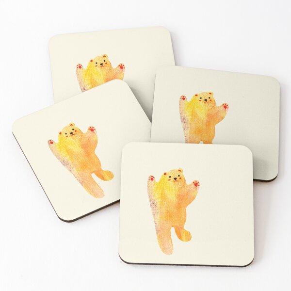 Dancing Bear Coasters (Set of 4)