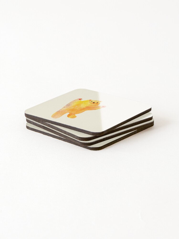 Alternate view of Dancing Bear Coasters (Set of 4)