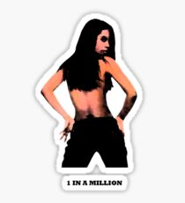 1 In A Million Prt II Silver Sticker