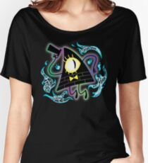 Bill Inverted Women's Relaxed Fit T-Shirt