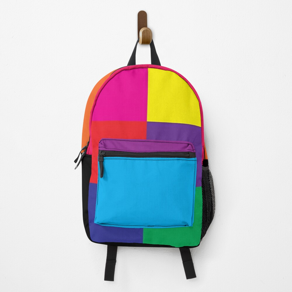 Bold Bright Colours Backpack