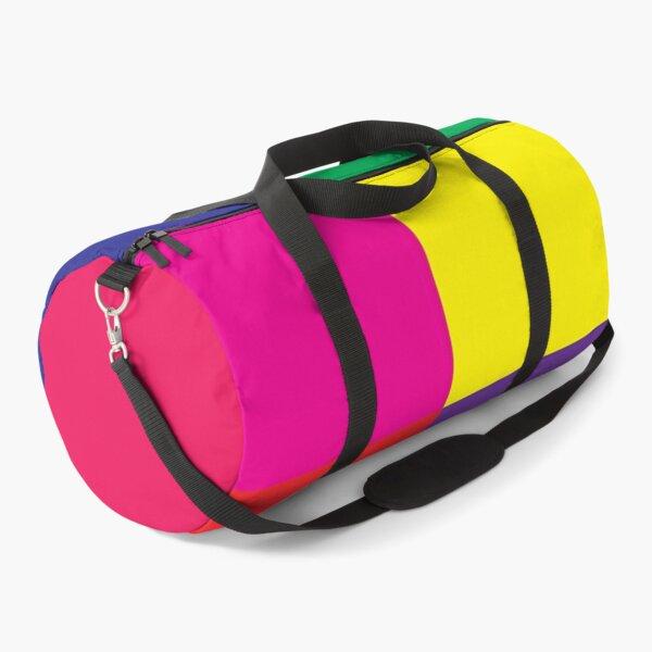 Bold Bright Colours Duffle Bag