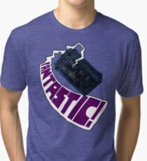"""Fantastic!"" The 9th Doctor Tri-blend T-Shirt"