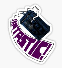 """""""Fantastic!"""" The 9th Doctor Sticker"""
