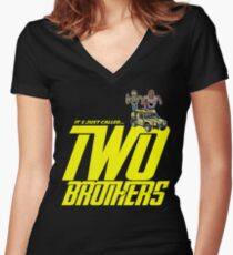 It's Just Called Two Brothers Women's Fitted V-Neck T-Shirt