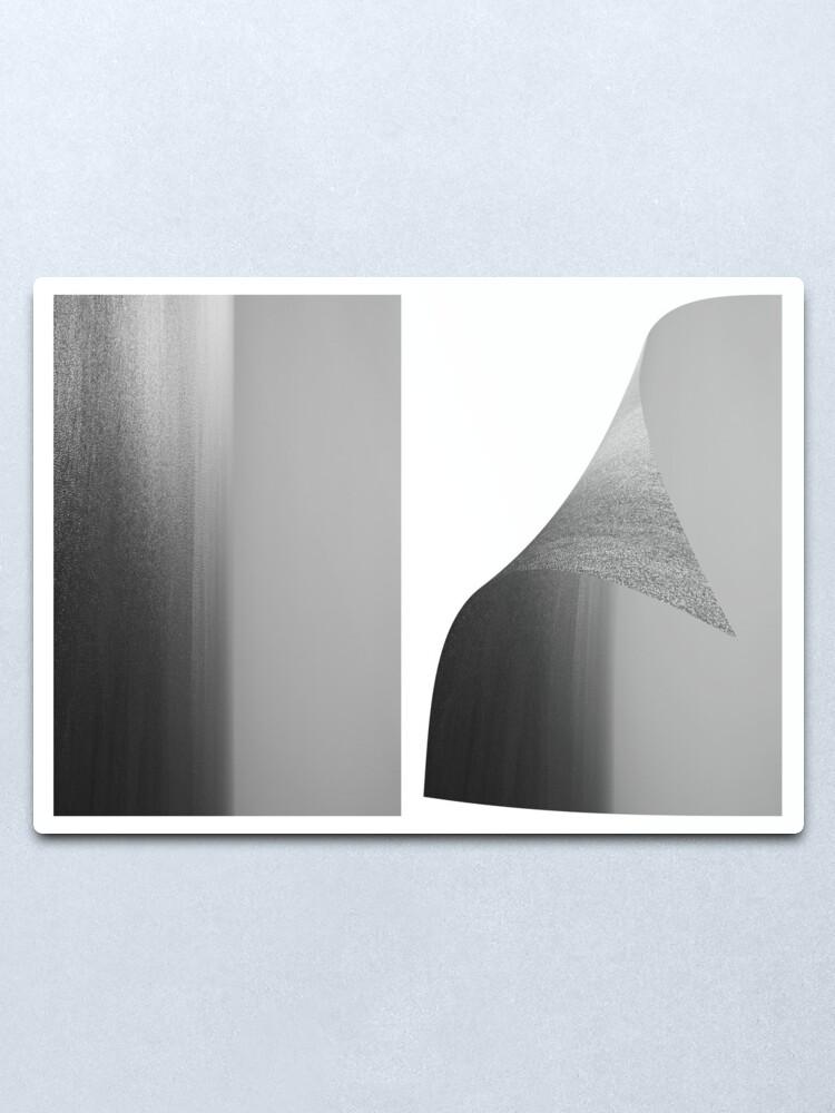 Alternate view of Oh Bollocks it's Art!! Metal Print