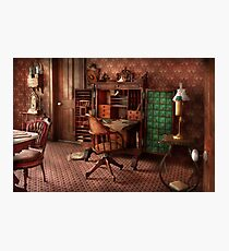 Doctor - Desk - The physician's office  Photographic Print