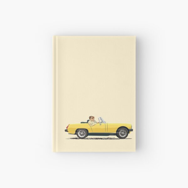 Inca Yellow coloured Midget Mk3 with rubber bumpers Hardcover Journal