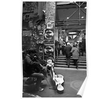 Centre Place - 4 B&W Poster