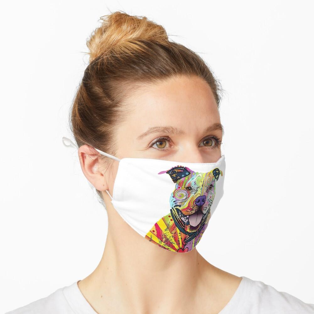 PitBull T-Shirts Colourful Pit Bulls T-Shirt Mask