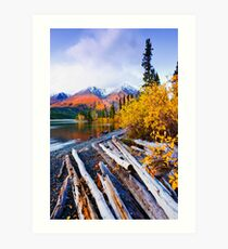 Kluane National Park, Canada Art Print