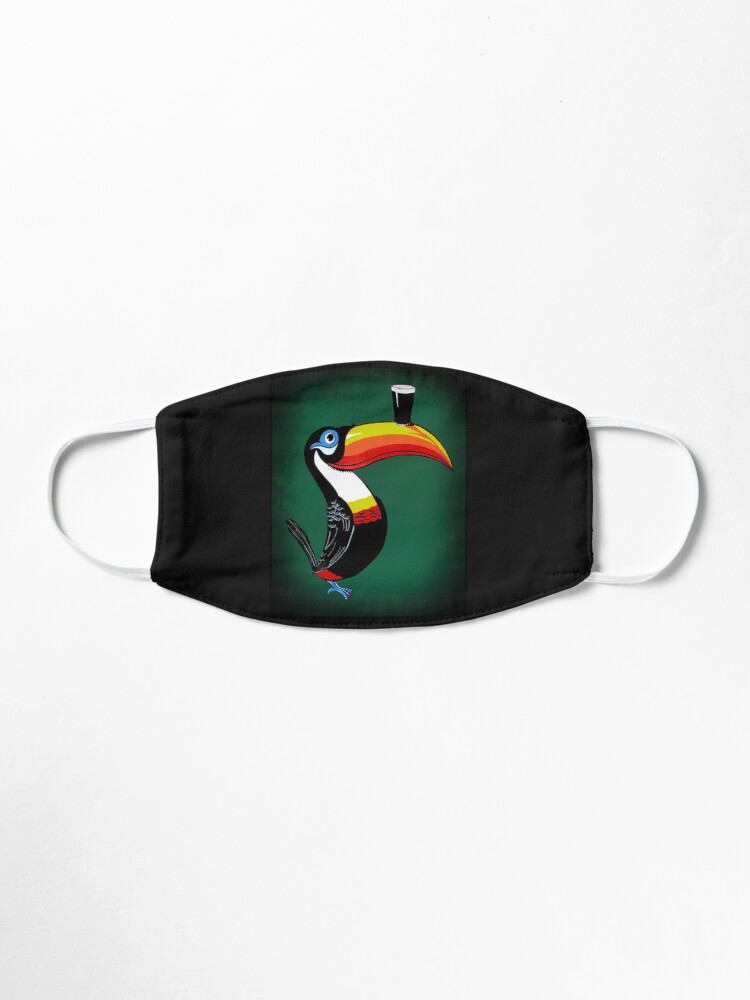 Alternate view of toucan Mask