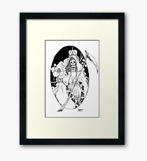 Bella Muerte Framed Print