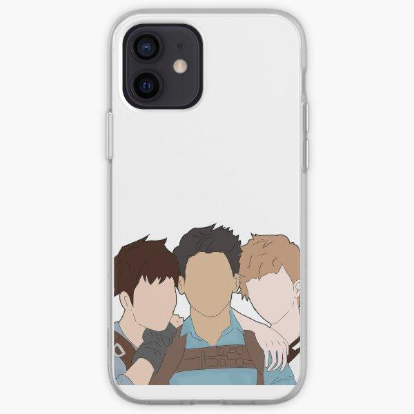 Maze Runner trio iPhone Soft Case
