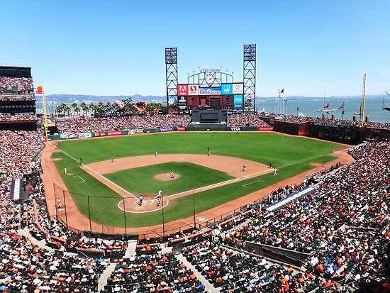 AT&T Park - San Francisco by Kimberly Palmer