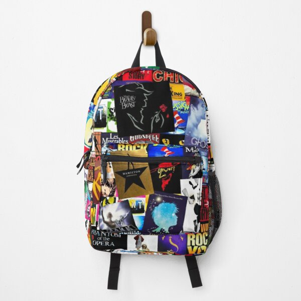 Musicals Collage IV  Backpack
