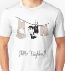 Buster Keaton Hello Neighbor! cartoon T-Shirt