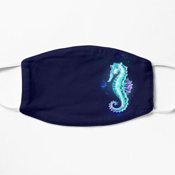 Ice Seahorse Flat Mask
