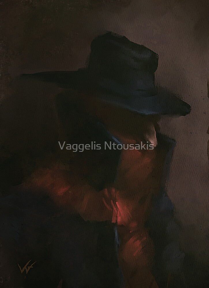 The Shadow  by Vaggelis Ntousakis