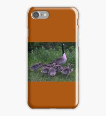 Mother And Her Babies  iPhone Case/Skin