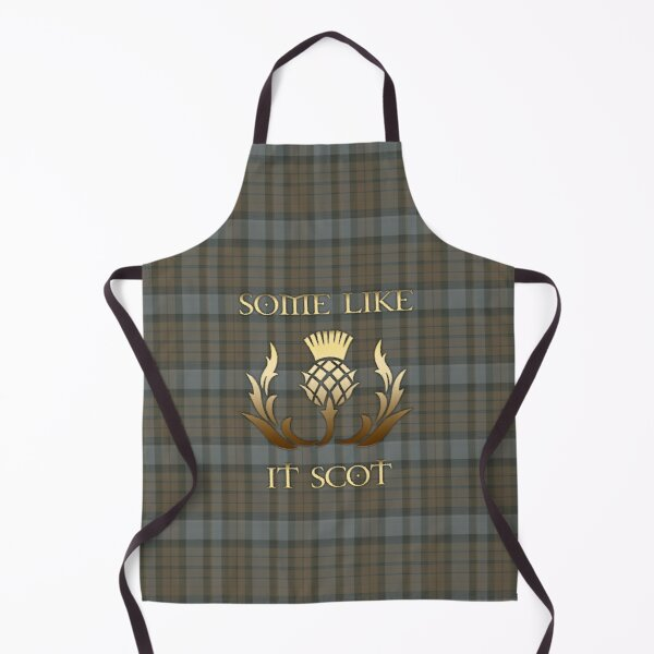 Some like it scot - Thistle - Outlander Apron