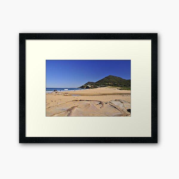 Stanwell Park Beach Framed Art Print