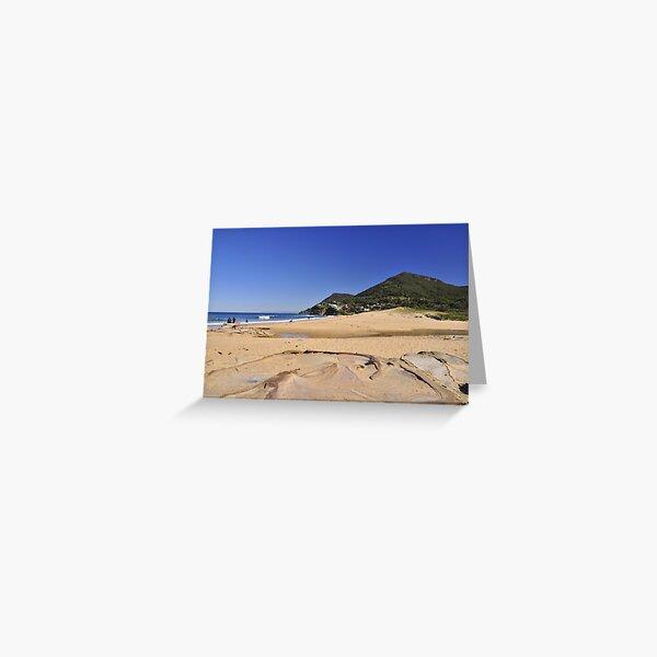 Stanwell Park Beach Greeting Card
