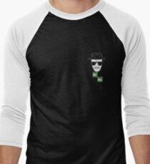 Breaking Bad Heisenberg Logo Men's Baseball ¾ T-Shirt