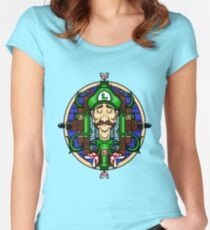 Luigi's Lament Women's Fitted Scoop T-Shirt